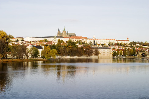 Prague Castle & River