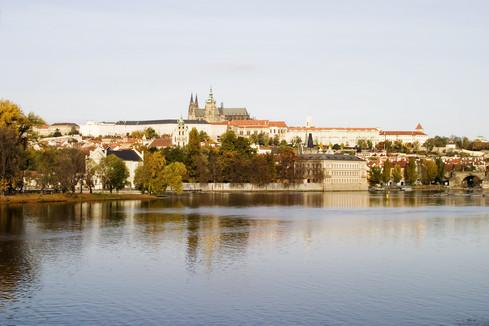 Prague Castle & River